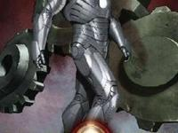 Iron Man's Mark II armor is recreated by the model kit