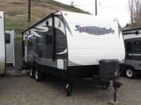 # 20116 15 Keystone Springdale 212RBWE New 21' Rear