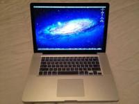 "Selling my 15"" MacBook Pro 2011 model...Excellent"