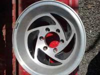 "15"" mag rims chevy 6 bolt will fit chevy or toyota"
