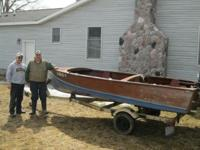 I have a 15' all aquatic wooden fishing boat with a