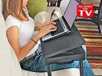 Adjustable Laptop Table puts an end to wobbly trays,