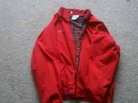 NEW AND VINTAGE CLOTHINGRED POLO VINTAGE JACKET $35 -