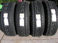 Price is for a set of 4 new tires   235/75/15(29""