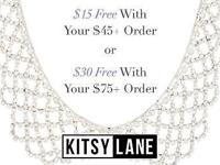 $15 OFF YOUR $45 ORDER OR $30 OFF $75. Use code 45ORDER