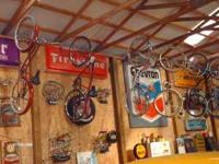 15 old bikes schwin,sears,westerauto, etc call mike at