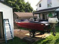 Boat has new carpet, new impeller, rebuilt fuel pump,