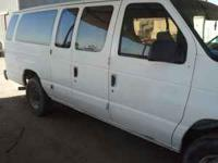 FORD VAN 1996 15 PASSENGER, RUNS GOOD CALL DANIEL @