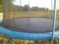 We bought this trampoline for the kids at the end of