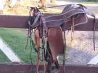 trail saddle in good condition, $250. o.b.o. for the