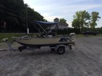 Great running 15' boat has side/ center console