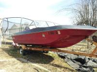 1979 15' Sea Raider boat and a 1979 Tee Nee adjustable