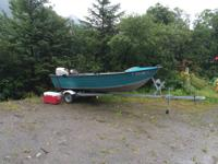 1991 15' Duroboat for sale. Includes a 2007 4 stroke