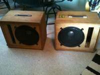 2 SPEAKERS CABINETS WITH REVERB. MUST SELL   Location: