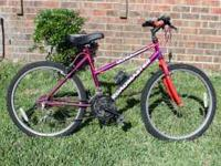 This is a Road Master 15 speed mountain bike. Asking