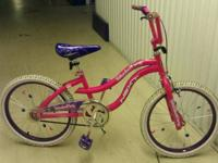 "20"" Girls ""Slumber Party"" bike by Next Has the typical"