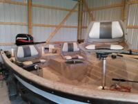 I am selling my grandfather's fiberglass fishing boat.