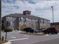 Newer Ramada hotel located just off the interstate.