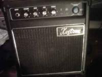 I have a Kustom 15 watt practice amp for sale for 15