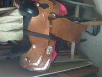 "15"" Barrel Saddle for sale. Bought at Auction, not sure"