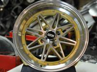 Wheel specs:. STR 505 wheels. Front wheel size: