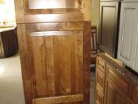 "This wooden pantry measures 15"" wide by 15"" deep. It"
