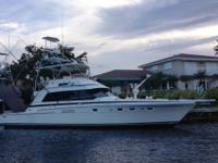 THIS IS THE BEST PRICED BERTRAM 54' ON THE MARKET. ALL