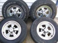 Set of 4 1960s Cragars Wheels 4.5 x 5 bolt pattern