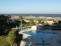 One room (3rd floor) furnished, oceanfront apartment at