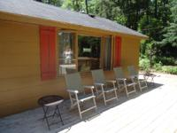 Rent our cabin this summer for $150 per night, 3 night