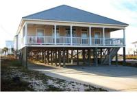 3 bed rooms, 2 bath home on lovely Dauphin Island.