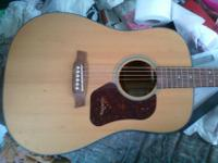 Walden Acoustic guitar for sale. Needs tuning, barely