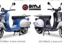Brand New BMS 150cc Chelsea Scooter 2016 Retro Style at
