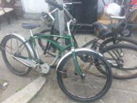 I'm selling a Schwinn Cruiser Four. Its in attractive