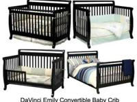 Da Vinci Emily Convertable Crib Day Bed Full Bed