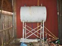 150 gal overhead fuel tank 50.00 call   Location: