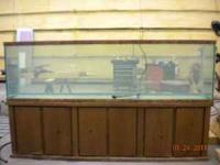 Approximately 150 gal Oceanic aquarium and stand for