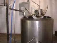 CREAMERY PACKAGE PASTEURIZER, 150 GALLON, ADJUSTABLE