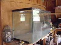 This is a large and heavy fish tank. Measurements are