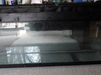 For Sale: 150 gallon glass aquarium with custom lid -