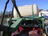 150 Gallon Spray Tank and Cart needs new pump and