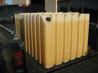 "150 Gallon plastic Fuel storage tanks, Stackable, 1""npt"