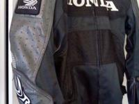 Genuine Joe Rocket, Honda Leather Jacket In like new