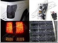 Up for sale is a set of LED smoke Tail lamps that are