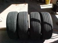 Up for sell is four matching Michelin Energy MXV458 215