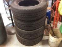 I have for sale four(4) Michelin LTX A/T truck tires,
