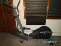 *Almost New Hardly used Nordic Track Elliptical Works