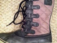 Sorel are the best snow boots out there. I bought these