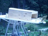 Attn Lobster Boat Owners! wooden box ready for You to