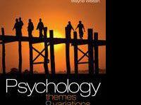Psychology Themes & Variations -8th Edition by Wayne